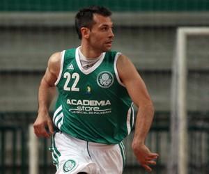 Maxi Stanic, armador Palmeiras Basquete (Foto: Fabio Menotti/Ag. Palmeiras)