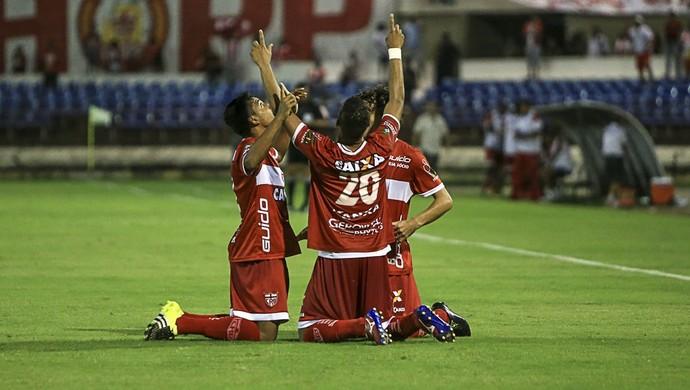 CRB x Paraná, no Rei Pelé (Foto: Ailton Cruz/Gazeta de Alagoas)