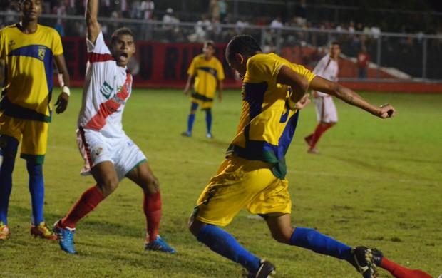 River Plate e Socorrense não saíram do 0 a 0 no Franção (Foto: Thiago Barbosa/GLOBOESPORTE.COM)