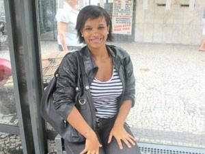 Samara Feliciano mora em Copacabana (Foto: Lívia Torres/G1)