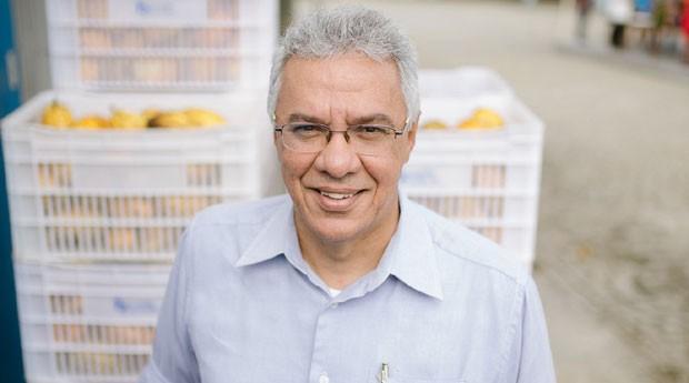 Henrique Almeida, dono do chocolate Fazenda Sagarana e diretor do Instituto Biofábrica de Cacau (Foto: Divulgação/Ana Lee)