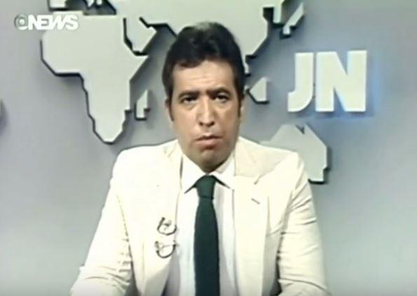 Berta Filho foi apresentador do Jornal Nacional (Foto: Reprodução Youtube)