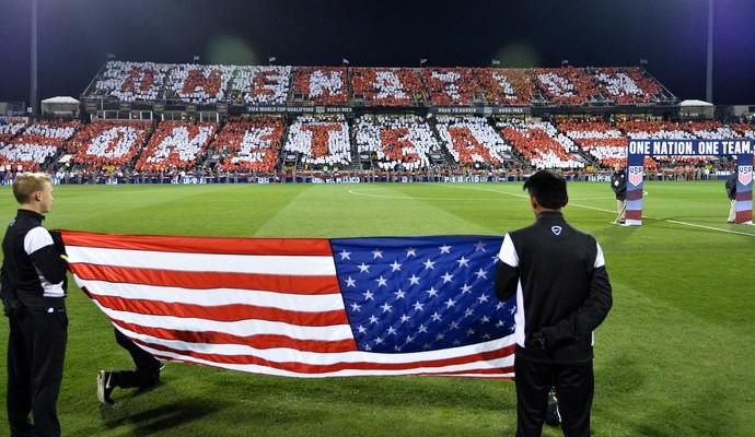Estados Unidos x México eliminatórias (Foto: Jamie Sabau/Getty Images)