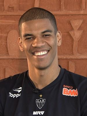 Zagueiro Leonardo Silva, do Atlético-MG  (Foto: Reprodução TV Globo Minas)