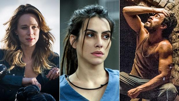 Mariana Ximenes, Cleo Pires e Erom Cordeiro estão no elenco brasileiro de Supermax, que estreia no segundo semestre (Foto: Caiuá Franco/Globo)