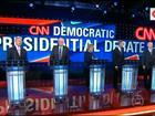 Hillary e Sanders dividem atenção no 1º debate de democratas nos EUA