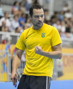 Thiago Monteiro, tênis de mesa Jogos Pan-Americanos Toronto 2015 (Foto: Divulgação/ITTF)