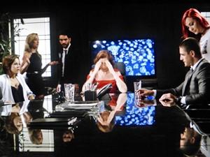 Família Medeiros fica bolada com discurso de Cristina (Foto: Gshow)