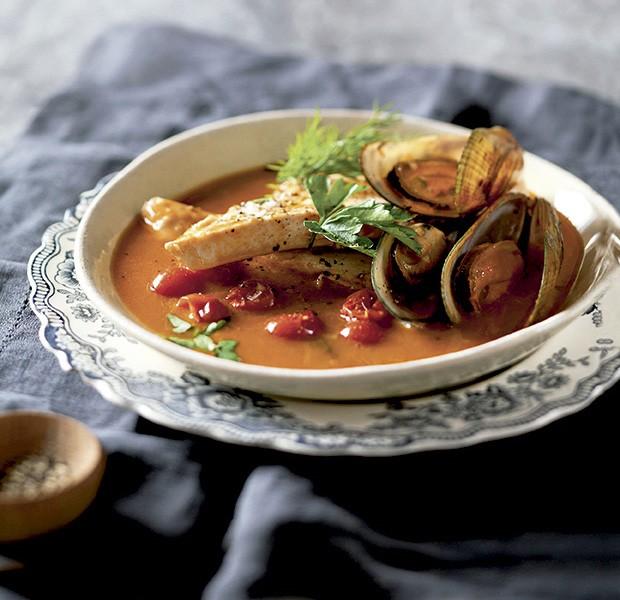 Sopa de peixe e mexilhões (Foto: StockFood/Great Stock!)