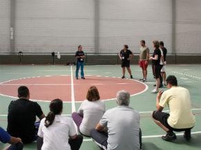 Treinamento da Fundação Laureus Sport For Good (Foto: Divulgação / Camila Romana)
