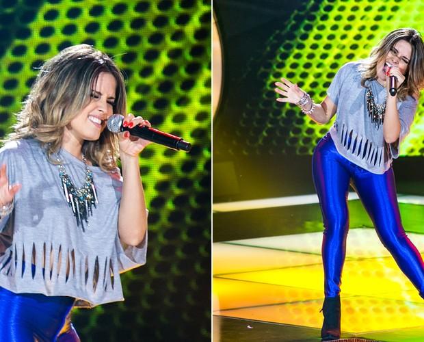 Jullie Audição (Foto: Isabella Pinheiro/TV Globo)