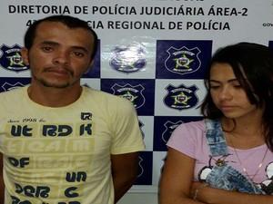 Irmão são presos suspeitos de furtar energia (Foto: Ascom/PC)