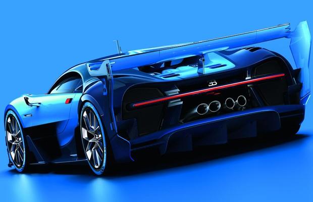 Bugatti Vision Gran Turismo concept (Foto: Divulgação)
