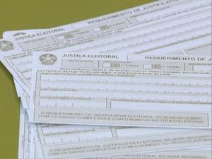 População tem dúvidas sobre a justificativa do voto (Foto: Reprodução/TV Fronteira)