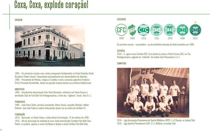 livro coritiba história (Foto: Reprodução)