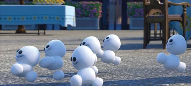 Snowgies são os novos personagens de 'Frozen' (Foto: Divulgação/Disney)