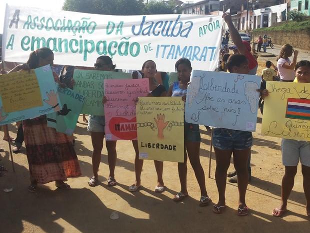 protesto (Foto: Rosivaldo Rosa Caló)