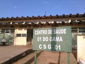 Centro de Saúde do Gama (Foto: Raquel Morais/G1)