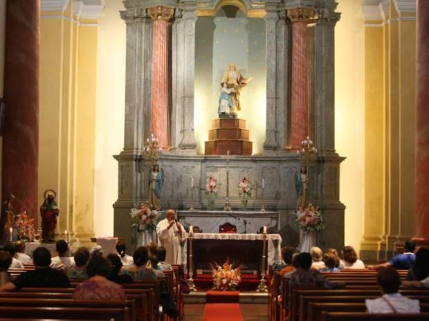 Santa′Anna e São Joaquim terão procissão em sua homenagem nas ruas de Belém, neste sábado (26). (Foto: Everaldo Nascimento/O Liberal)