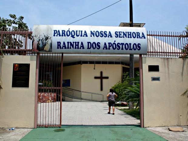 Paróquia Nossa Senhora Rainha dos Apóstolos  (Foto: Adneison Severiano G1/AM)