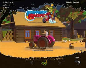 redneck racers gameplay