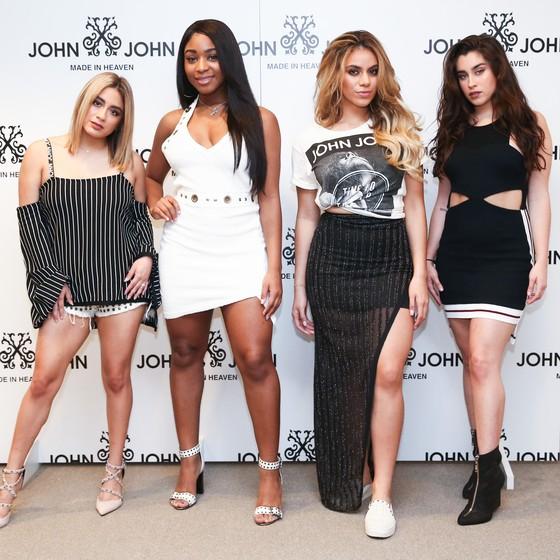 As integrantes do grupo Fifth Harmony: mergulho na praia de Ipanema e ida a alguns shoppings estão na agenda  (Foto: Divulgação)