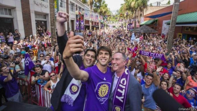 Kaká Flávio Augusto Silva Orlando City (Foto: Reprodução / Site Oficial)