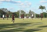 Raposa finaliza preparação para jogo com Náutico em treino no CT do Sport