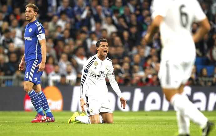 Cristiano Ronaldo, Real Madrid X Schalke (Foto: Agência AP)