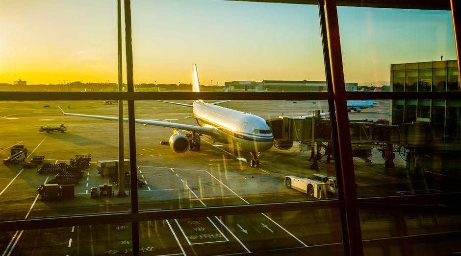 aeroporto aviao turismo viagem (Foto: shutterstock)