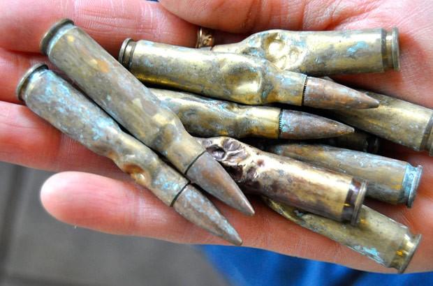 Benno engoliu nove cartuchos calibre .308 (Foto: Josh Dooley/The Baxter Bulletin/AP)