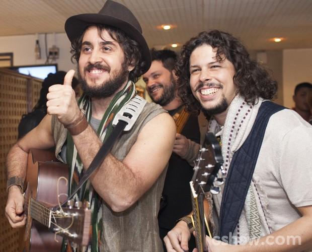 Suricato bastidores Top 7 (Foto: Dafne Bastos/TV Globo)