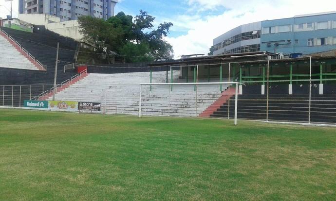 Estádio Sumaré, em Cachoeiro de Itapemirim, irá passar por reformas feitas por torcedores (Foto: Divulgação)