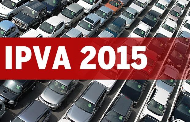 IPVA 2015: guia de pagamento do imposto