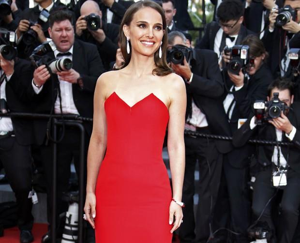 Natalie Portman em tapete vermelho do festival de Cannes, em 2015 (Foto: Eric Gaillard/Reuters)