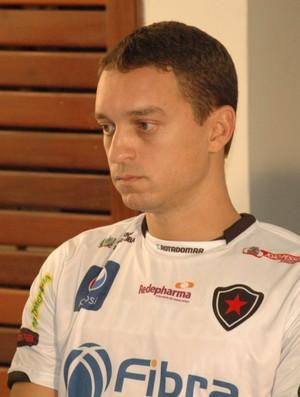Fausto, Botafogo-PB, Paraíba (Foto: Larissa Keren / globoesporte.com/pb)