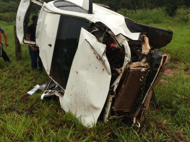 Acidente fatal na BR-010, em Açailândia (Foto: Divulgação/PRF)