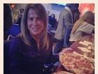 Gente como a gente, Zilu aparece comendo pizza
