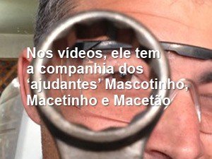 macete (Foto: Glauco Araújo/G1)