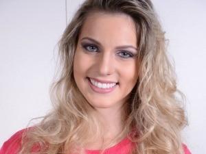 Ana Clara Benevides, finalista do Miss ES 2014 (Foto: Wanderson Lopes/Divulgação)