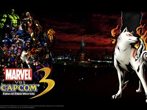 screenshot de Papis de Parede: Marvel vs. Capcom