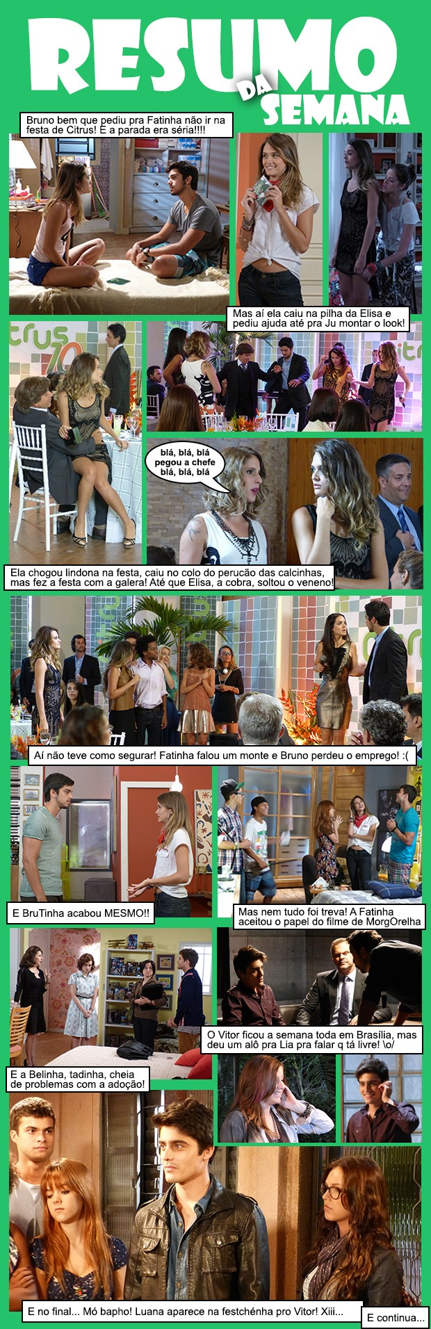 Resumo da Semana - 8 a 12 de abril (Foto: Malhação / TV Globo)