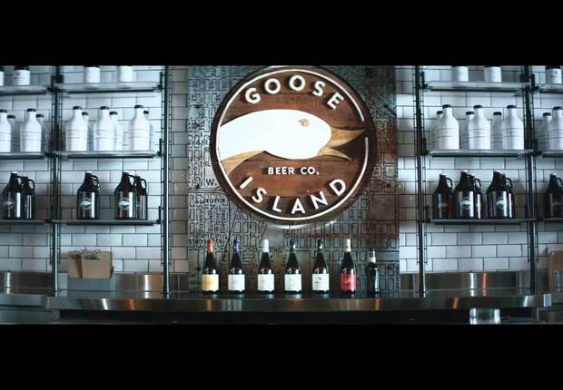 Pub da Goose Island,  cervejaria americana comprada pela AB InBev, controladora da Ambev (Foto: Reprodução/Facebook)