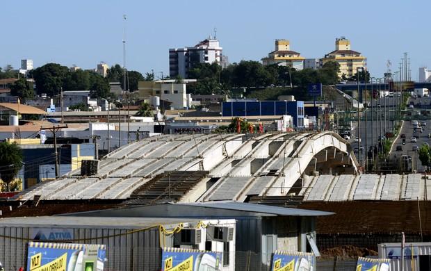 Viaduto da UFMT em Cuiabá (Foto: Marcos Vergueiro/Secom-MT)