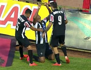 FRAME - JÔ atlético-MG gol campeão (Foto: TV GLOBO)