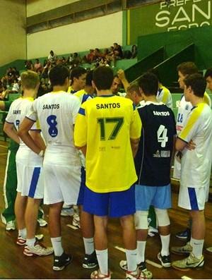 ANDEE Santos Ibirapuera sub-19 paulista vôlei (Foto: Divulgação / Zerri Torquato)