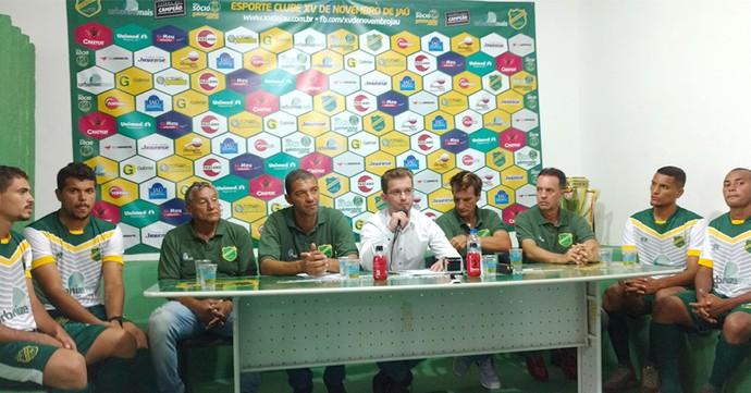XV de Jaú, apresenta, elenco, Segunda Divisão (Foto: Tiago Pavini / EC XV de Jaú)