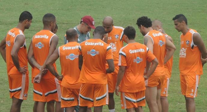 Time Fluminense Laranjeiras (Foto: Fred Huber)