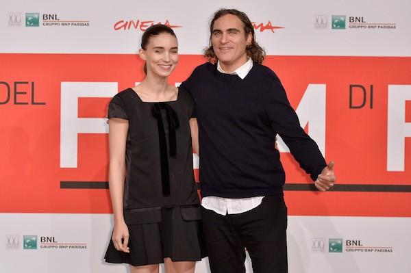 Rooney Mara e Joaquin Phoenix (Foto: Getty Images)