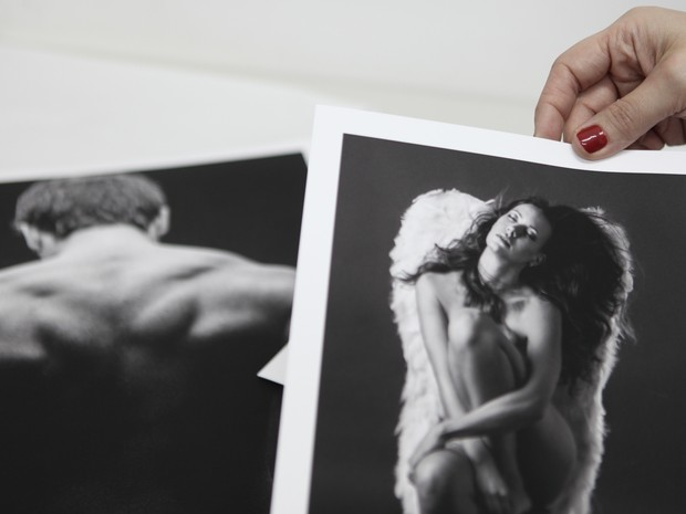 Daniela Petrucci, de 33 anos, é fotógrafa de nu artístico (Foto: Caio Kenji/G1)